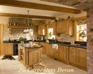 Devon Joiner Traditional Carpentry Solid Oak Kitchen Units
