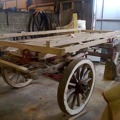 17th Century Wooden Cart Restoration
