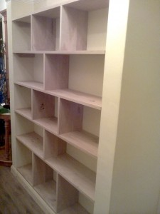 Bespoke Oak Bookshelf