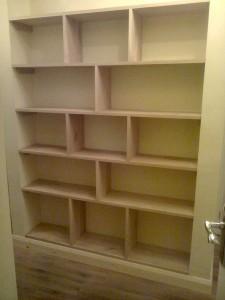 Bespoke Oak Bookshelf1