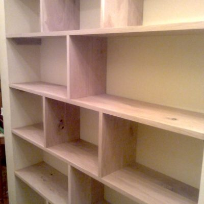 Bespoke Oak Bookshelf2