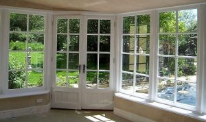 Bespoke Windows In Custom Built Wooden Sun Room Okehampton Devon