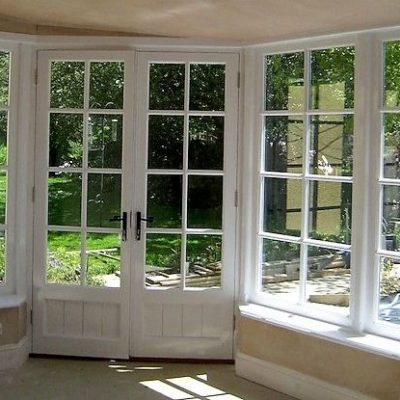 Bespoke Windows In Custom Built Wooden Sun Room Okehampton Devon