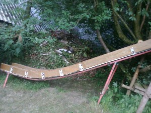 Custom Built Childrens Garden Slide
