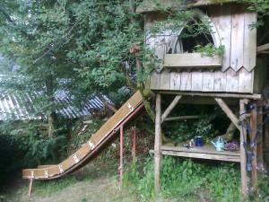 Custom Built Childrens Garden Slide2