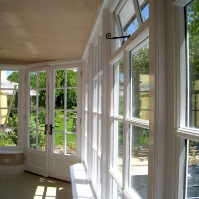 Custom Built Wooden Sun Room JG Carpentry Devon Joiners3