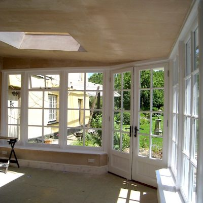 Custom Built Wooden Sun Room JG Carpentry Devon Joiners4