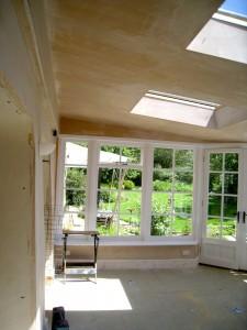 Custom Built Wooden Sun Room JG Carpentry Devon Joiners6