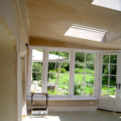 Custom Built Wooden Sun Room JG Carpentry Devon Joiners6