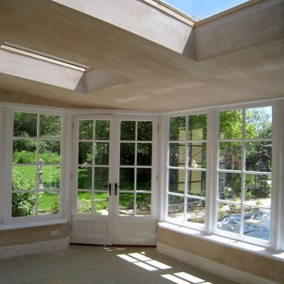 Custom Built Wooden Sun Room JG Carpentry Devon Joiners7
