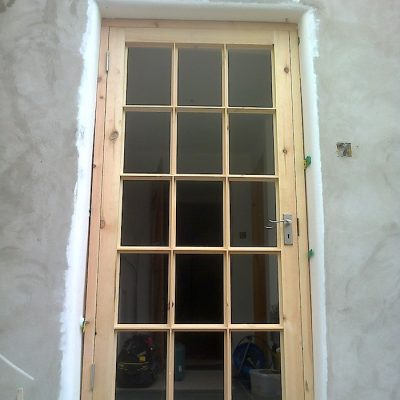Fitted Modern Oak Door Frame2