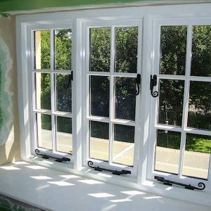 Hand Built Traditional Wooden Cottage Double Glazed Windows Spreyton Devon