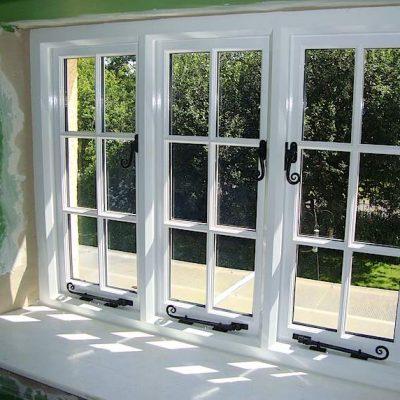 Hand Built Traditional Wooden Cottage Double Glazed Windows Spreyton Devon