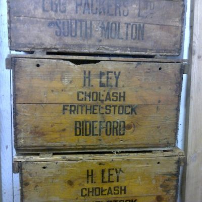 Old Fishing Boxes Set Of Drawers