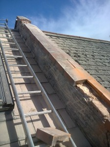 Roof Ridge Tile Replacement