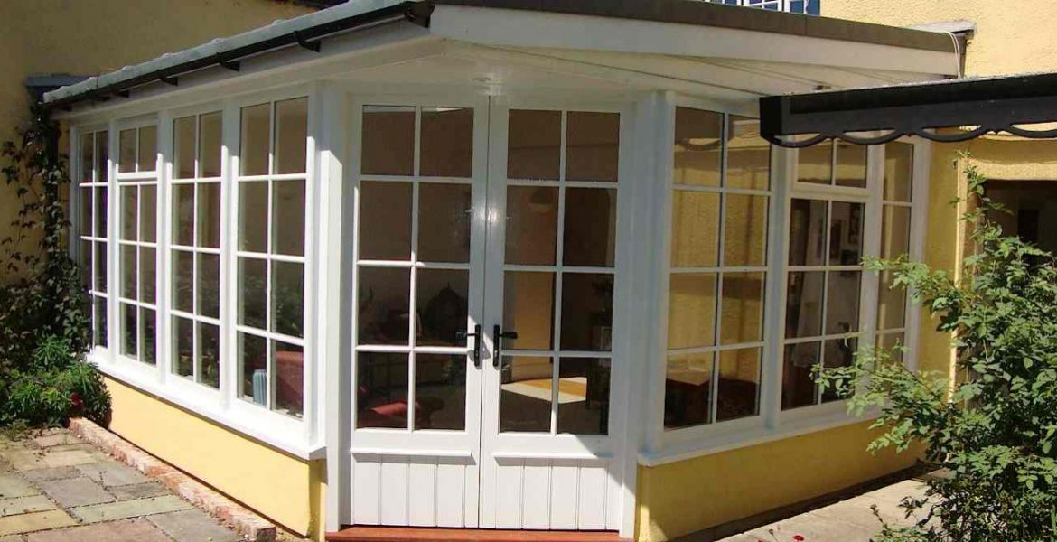 Custom Built Wooden Sunroom Conservatory Mid Devon