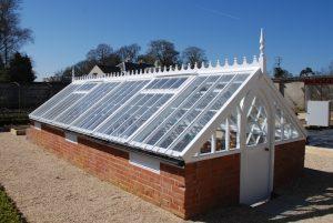Bespoke Joinery Wooden Frame Victorian Greenhouse Devon