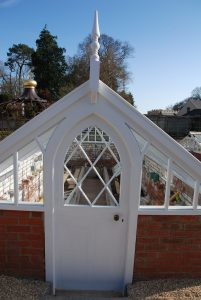 Custom Built Refurbished Victorian Greenhouse Door