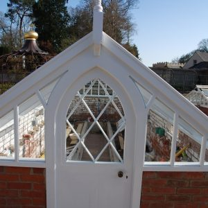Custom Built Refurbished Victorian Greenhouse Door