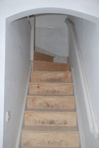 Custom Built Wooden Staircase