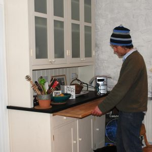 Custom Dresser Pull Out Worktop