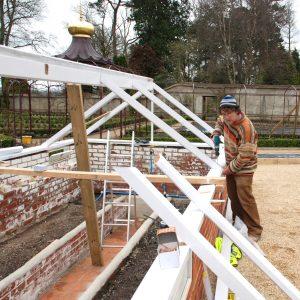 First Fix Carpentry Victorian Greenhouse