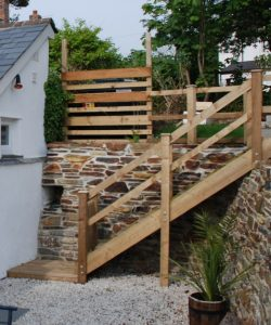 Garden Staircase Treated Pine