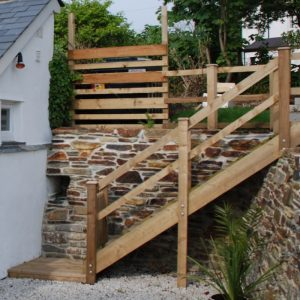 Garden Staircase Treated Pine