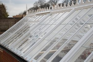 Glazing Detail Wooden Frame Victorian Greenhouse Chagford