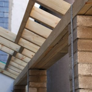 Kitchen Conservatory Rafters