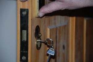 Mortice Lock Internal Door Devon Farmhouse
