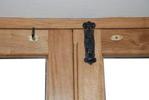 Oak Door Detail