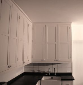 Painted Pine Pantry Custom Built Kitchen