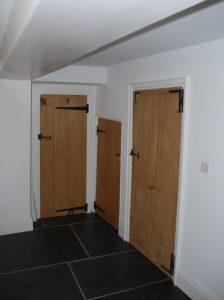 Reclaimed Victorian Pine Pantry Doors