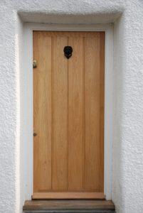 Traditional Devon Oak Front Door