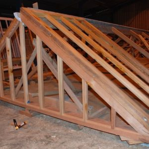 Workshop Joinery Dry Assembly Victorian Greenhouse Roof