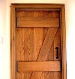 Hand Crafted Solid Oak Door Devon Joiners Jg Carpenters2