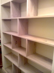 Bespoke Oak Bookshelf2