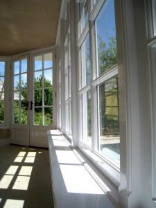 Custom Built Wooden Sun Room JG Carpentry Devon Joiners2