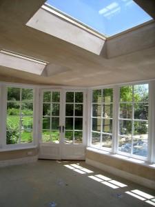 Custom Built Wooden Sun Room JG Carpentry Devon Joiners7