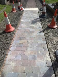 Mono Block Pathway To Sunroom1