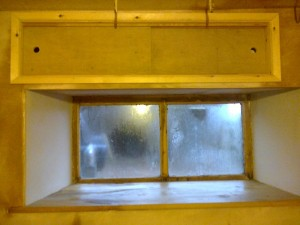 Wooden Sunken Window