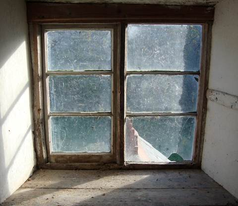 Old Cottage Windows Before Replacements