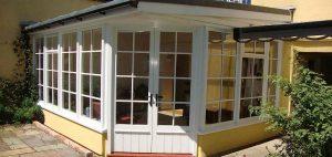 Custom Built Wooden Sunroom Conservatory Mid Devon