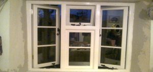 Custom Made Cottage Windows In Lime Plaster Wall Devon Joiners