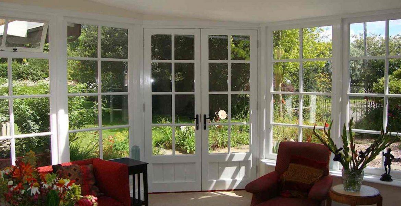 Wooden Sunroom Windows Custom Made JGCarpentry Okehampton Devon