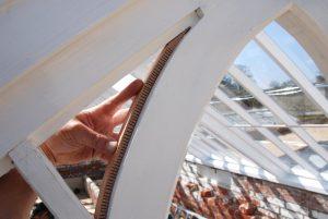 Detail Curfed Timber Rebate Greenhouse