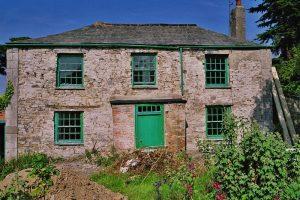 Devon Victorian Villa House Before Renovations