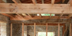 Scribed Graving Piece On Existing Beams