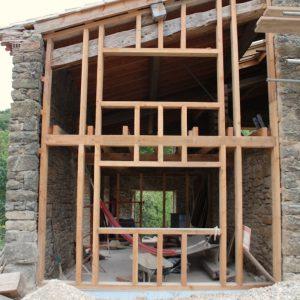 Timber Frame Exterior Elevation